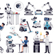 Robots Artificial Intelligence Set - GraphicRiver Item for Sale