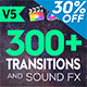 FCPX 300+ Transitions and Sound FX - VideoHive Item for Sale