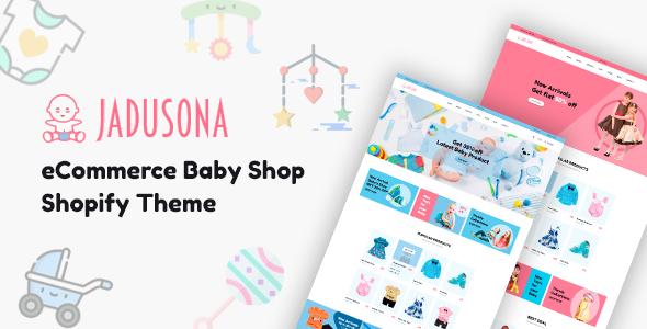 Jadusona - eCommerce Baby Shop Shopify Theme - Shopping Shopify