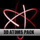 3D Atom Animation - full HD - VideoHive Item for Sale