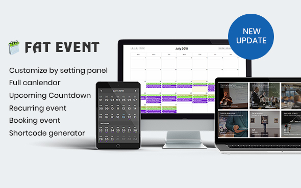 FAT Event - WordPress Event and Calendar Booking            Nulled