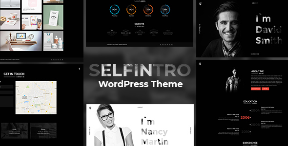 Selfintro - A CV & Portfolio WordPress Theme