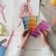 Female Fashion Designer Choosing Color Palette for Her New Design