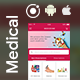 Medicine pharmaceutical e-commerce Android + iOS App Template (HTML + CSS in IONIC 3 ) | Medizone