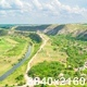 Cloudy Sky over A Valley With A River - VideoHive Item for Sale