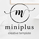 Miniplus Creative Google Slide Template - GraphicRiver Item for Sale