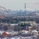 Kharkiv City From Above  at Winter. Ukraine - VideoHive Item for Sale