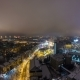 Kharkiv City From Above Night  at Winter. Ukraine - VideoHive Item for Sale