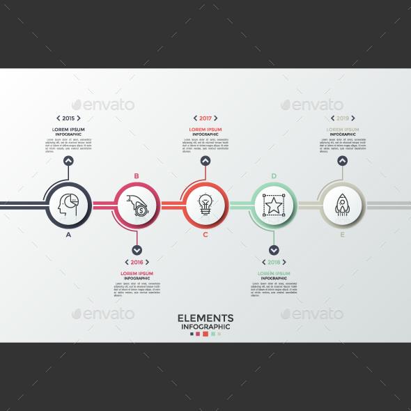 Circular Infographic Timeline - Infographics
