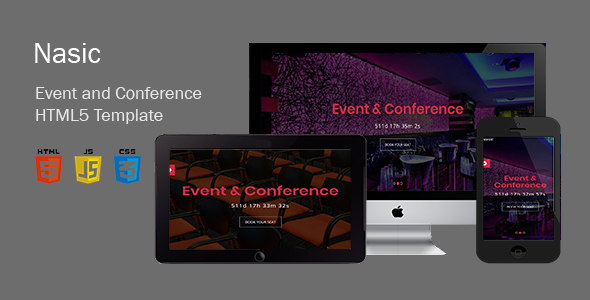 Fine Nasic-Event & Conference Html5 Template