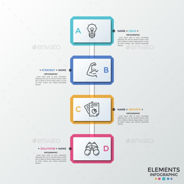 Modern Rectangular Timeline Infographic - Infographics