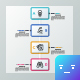 Modern Rectangular Timeline Infographic - GraphicRiver Item for Sale
