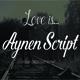 Aynen Script Font