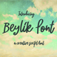 Beylik Script Font