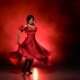 Girl in an Incendiary Dance of Flamenco - VideoHive Item for Sale