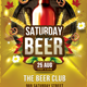 Saturday Beer Party - GraphicRiver Item for Sale