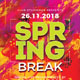 Spring Break Party Flyer - GraphicRiver Item for Sale