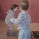 Sisters Twins Playing Together Running Around the House and Climbing the Stairs - VideoHive Item for Sale