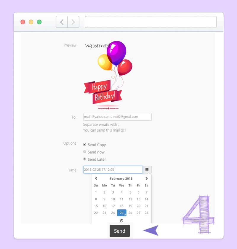 Mojdeh Screenshots Card Sample Op Email