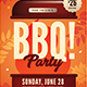 Autumn BBQ Party Flyer