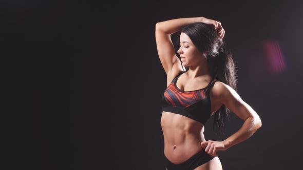 attractive female body
