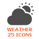 Weather & Forecast Filled Icon - GraphicRiver Item for Sale