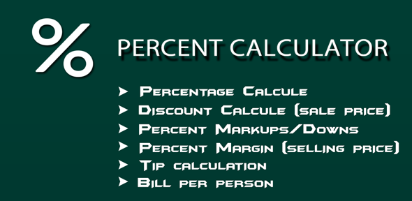 Percent Calculator            Nulled