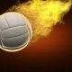 Burning Volleyball Ball - VideoHive Item for Sale