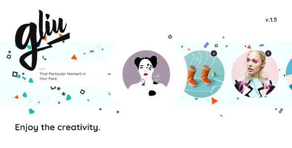 Gliu - Enjoy The Creativity - Blog / Magazine WordPress