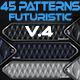 45 Futuristic Patterns - GraphicRiver Item for Sale