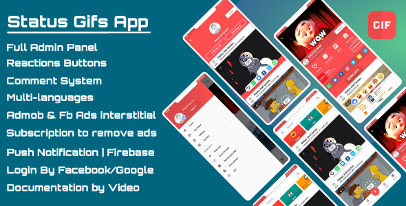 Status Gifs App - Pro            Nulled