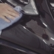 a Man Washes the Front of the Car Before Applying a Protective Layer on It - VideoHive Item for Sale