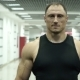 Portrait of a Muscular Coach in the Gym - VideoHive Item for Sale