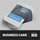 Minimalist Business Card Vol. 09 - GraphicRiver Item for Sale