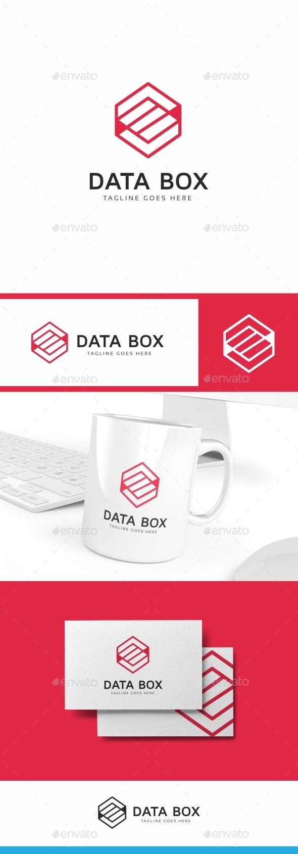Server Box Logo Template - Symbols Logo Templates