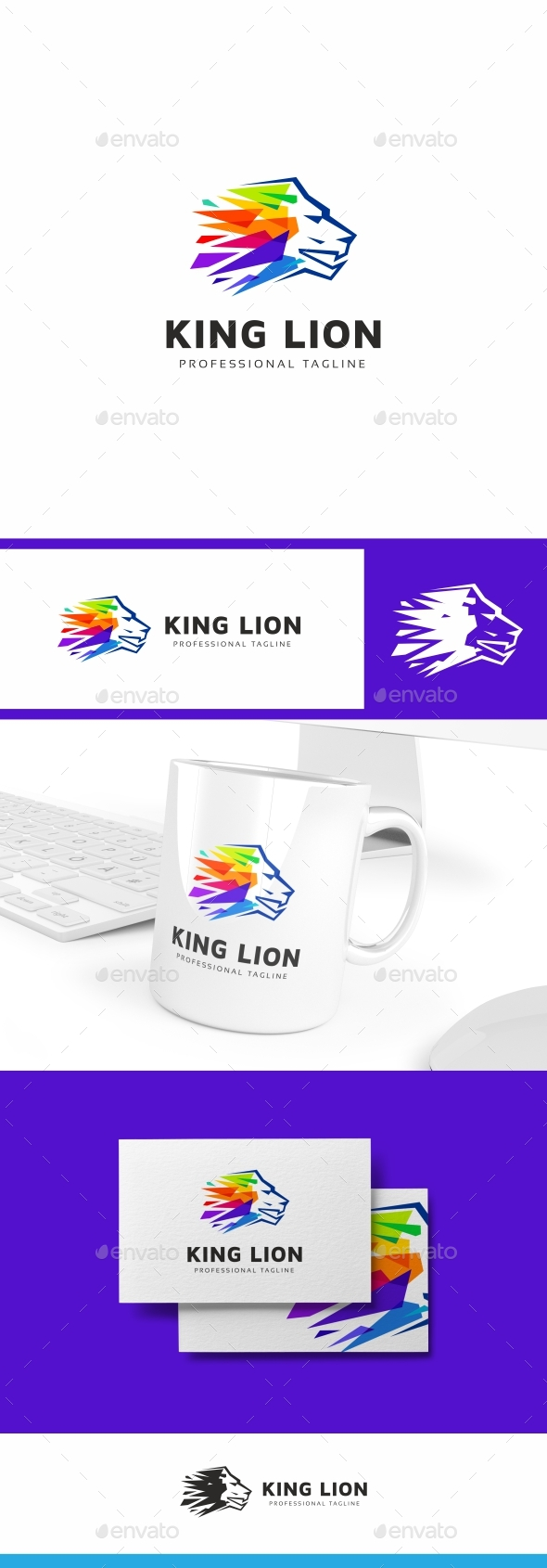 Lion  Logo Template - Animals Logo Templates
