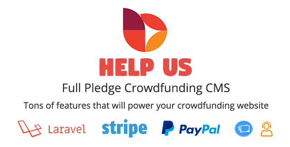 HelpUs - Ultimate Crowdfunding Solution            Nulled