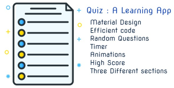 Quiz : A Learning App | Material Design | Efficient code            Nulled