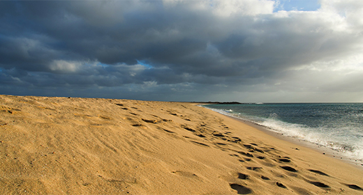 Sal island at Cabo Verde