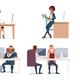 People Work in Office - GraphicRiver Item for Sale