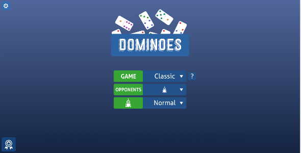Dominoes - HTML5 Game            Nulled