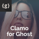 Free Download Clamo - Personal Ghost Theme Nulled
