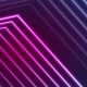 Blue Ultraviolet Neon Laser Beam Lines  - VideoHive Item for Sale