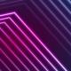 Blue Ultraviolet Neon Laser Beam Lines  - VideoHive Item for Sale