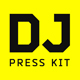 DJ Press Kit / DJ Resume / DJ Rider PSD Template - GraphicRiver Item for Sale