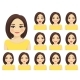 Woman Expressions Set - GraphicRiver Item for Sale