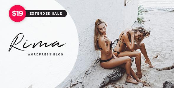 Image of Rima - Personal Blog WordPress Theme