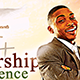 Leadership Conference Church Flyer - GraphicRiver Item for Sale