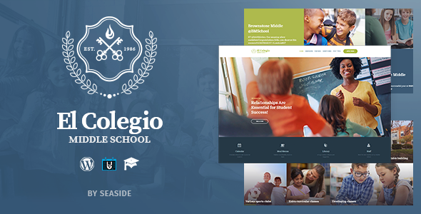 El Colegio - School & Education WP Theme with LMS