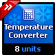 Temperature Units Converter - Natural Language Conversion Library - CodeCanyon Item for Sale